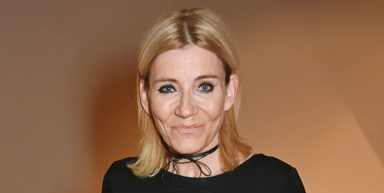 EastEnders and Coronation Street's Michelle Collins unveils pink hair transformation