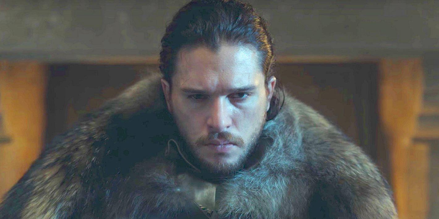 Kit Harington as Jon Snow in Game of Thrones Season 7 trailer