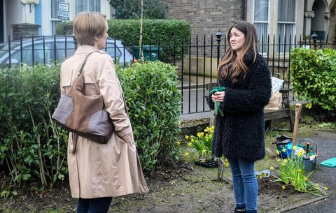 Stacey Fowler decides to give Michelle a chance in EastEnders