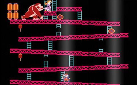 Donkey Kong on Nintendo NES
