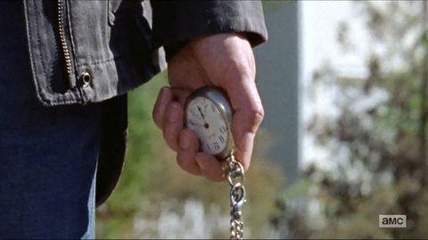 The Walking Dead finale: Maggie's watch