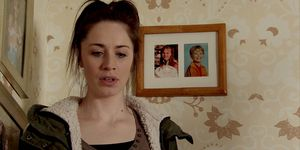 EMBARGO 9/4 Shona reveals the truth in Coronation Street