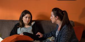 Sonia Fowler tries to get answers from Bex in EastEnders