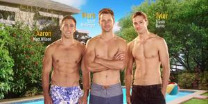 Aaron Brennan, Mark Brennan and Tyler Brennan in the new Neighbours opening titles