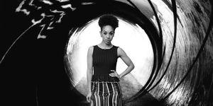 Pearl Mackie, James Bond, Photoshop