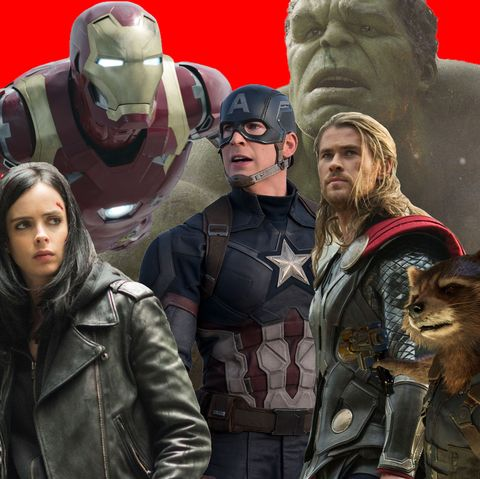 How to watch the entire Marvel Cinematic Universe in order of release
