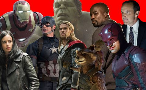 Marvel Cinematic Universe in chronological order – how to ...