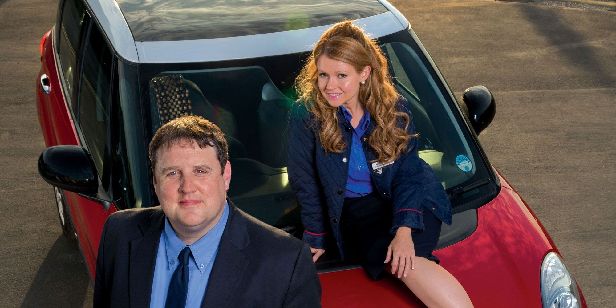 Peter Kay Car Share - Dirty back window blunder