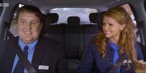 Peter Kay - Car Share - Dirty back window
