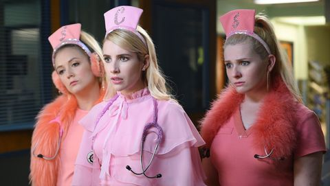 scream queens, the chanels