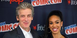 'Doctor Who' stars Peter Capaldi and Pearl Mackie