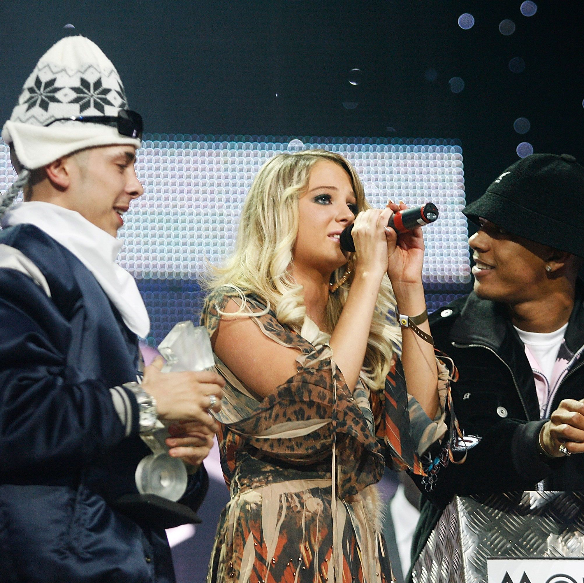 N-Dubz' Tulisa Contostavlos talks about reuniting with Dappy and Fazer