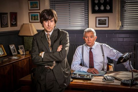 Lee Ingleby as Bacchus in 'Inspector George Gently'