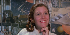 Stars Wars tribute to Carrie Fisher
