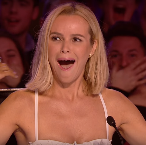 Britains Got Talents Amanda Holden on Ofcom outfit