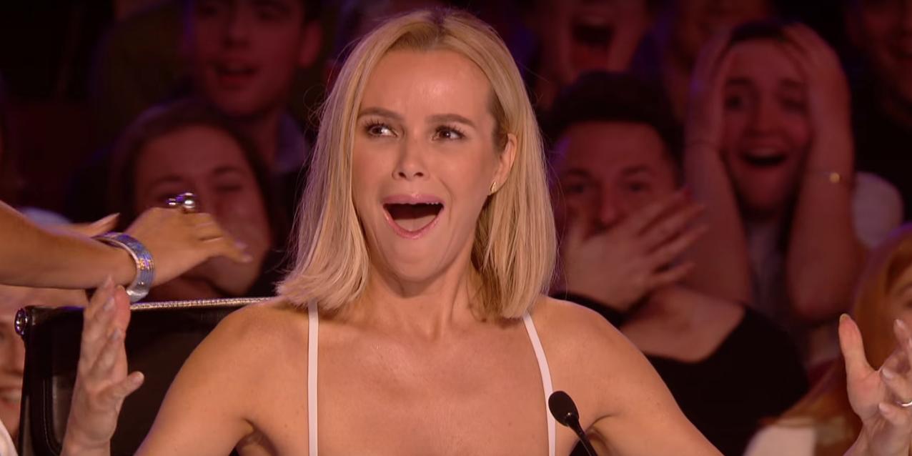 Amanda Holden shocked on Britain's Got Talent