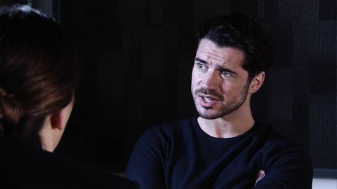 Adam Barlow is furious when the police tell him that Amy denied his claims in Coronation Street
