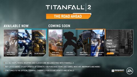 Titanfall 2 update drops a new titan, more maps, and a bunch