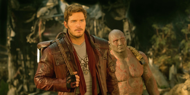 Guardians 2, Star-Lord, Drax, Chris Pratt, Dave Bautista