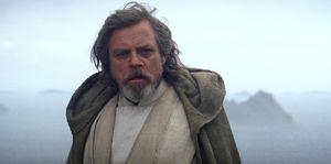 Mark Hamill, Luke Skywalker, Star Wars: The Force Awakens