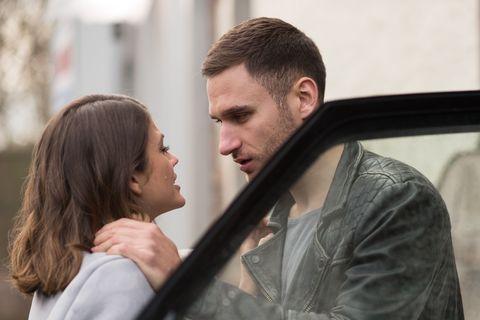 Freddie Roscoe says goodbye to Ellie Nightingale in Hollyoaks
