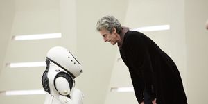 The Doctor (Peter Capaldi) in 'Doctor Who' s10e02, 'Smile'