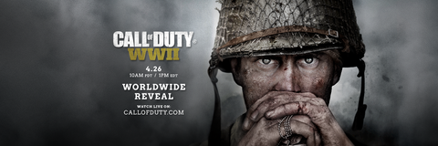 Call of Duty: WWII reveal poster