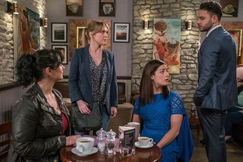 EMBARGO 02/05/2017 Adam snaps at Vanessa in Emmerdale