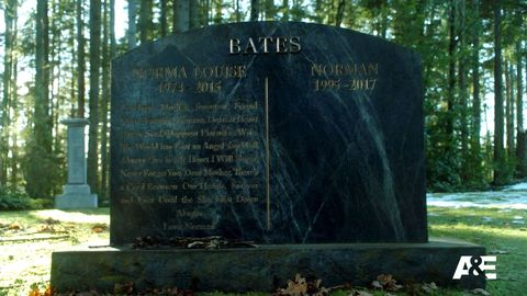 Image result for bates motel cemetery scene