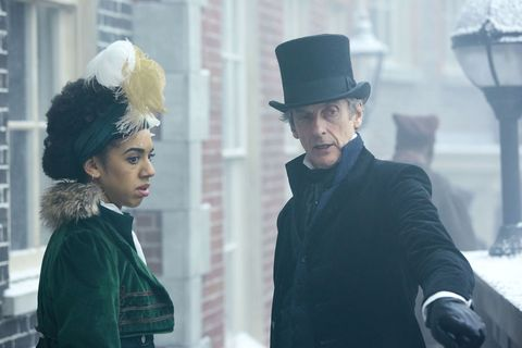 Peter Capaldi, Pearl Mackie, Doctor Who, Series 10 Episode 3 - Thin Ice