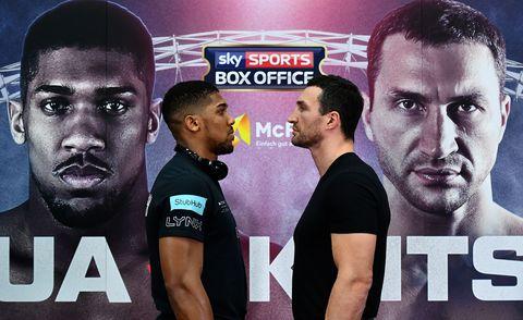 How to watch Anthony Joshua vs Wladimir Klitschko fight: date, time