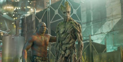 Groot and Drax Guardians of the Galaxy