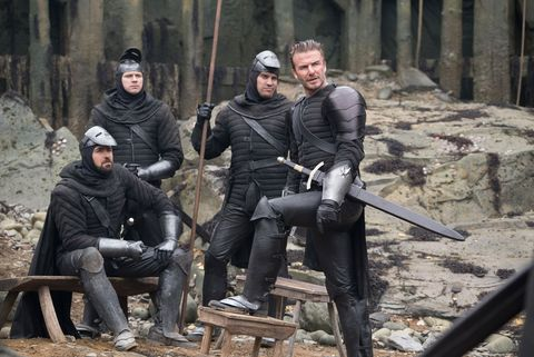King Arthur: Legend of the Sword - David Beckham
