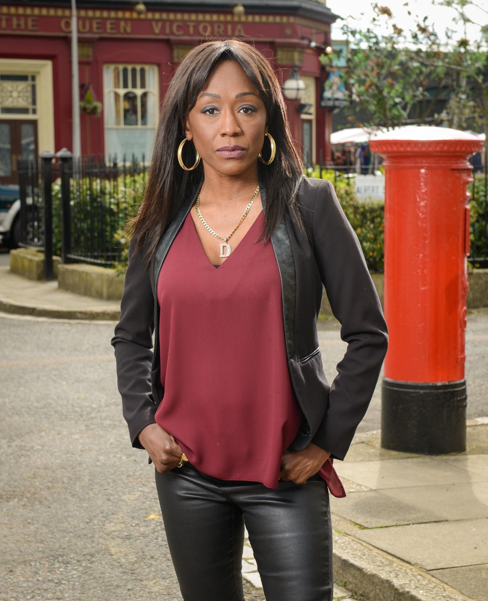 EastEnders' Denise Fox makes an incriminating discovery about Sheree this Christmas