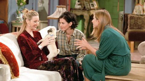 <p>Phoebe's brother Frank marries his girlfriend Alice, and they ask Phoebe if she will carry their children as a wedding present, starting a fairly huge storyline.&nbsp;</p>