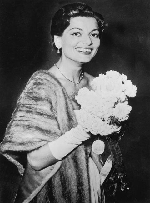 Eurovision Song Contest Winner 1956 Switzerland - Lys Assia (Song: Refrain)
