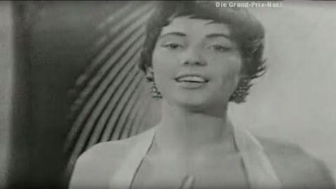 Eurovision Song Contest Winner 1957 Netherlands - Corry Brokken (Song: Net als toen)