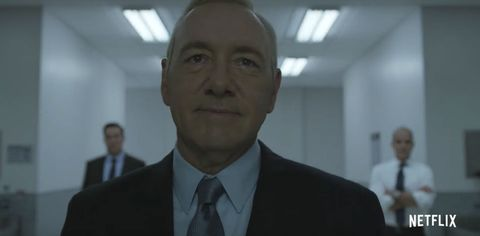 Frank Underwood in House of Cards season five trailer