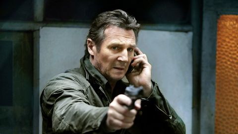 Taken with Liam Neeson