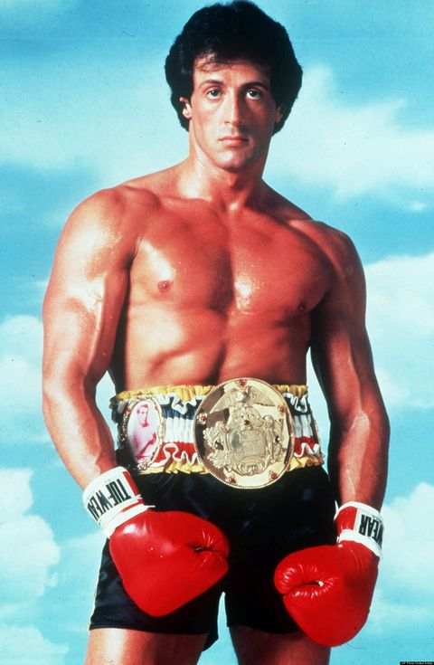 Stallone as Rocky