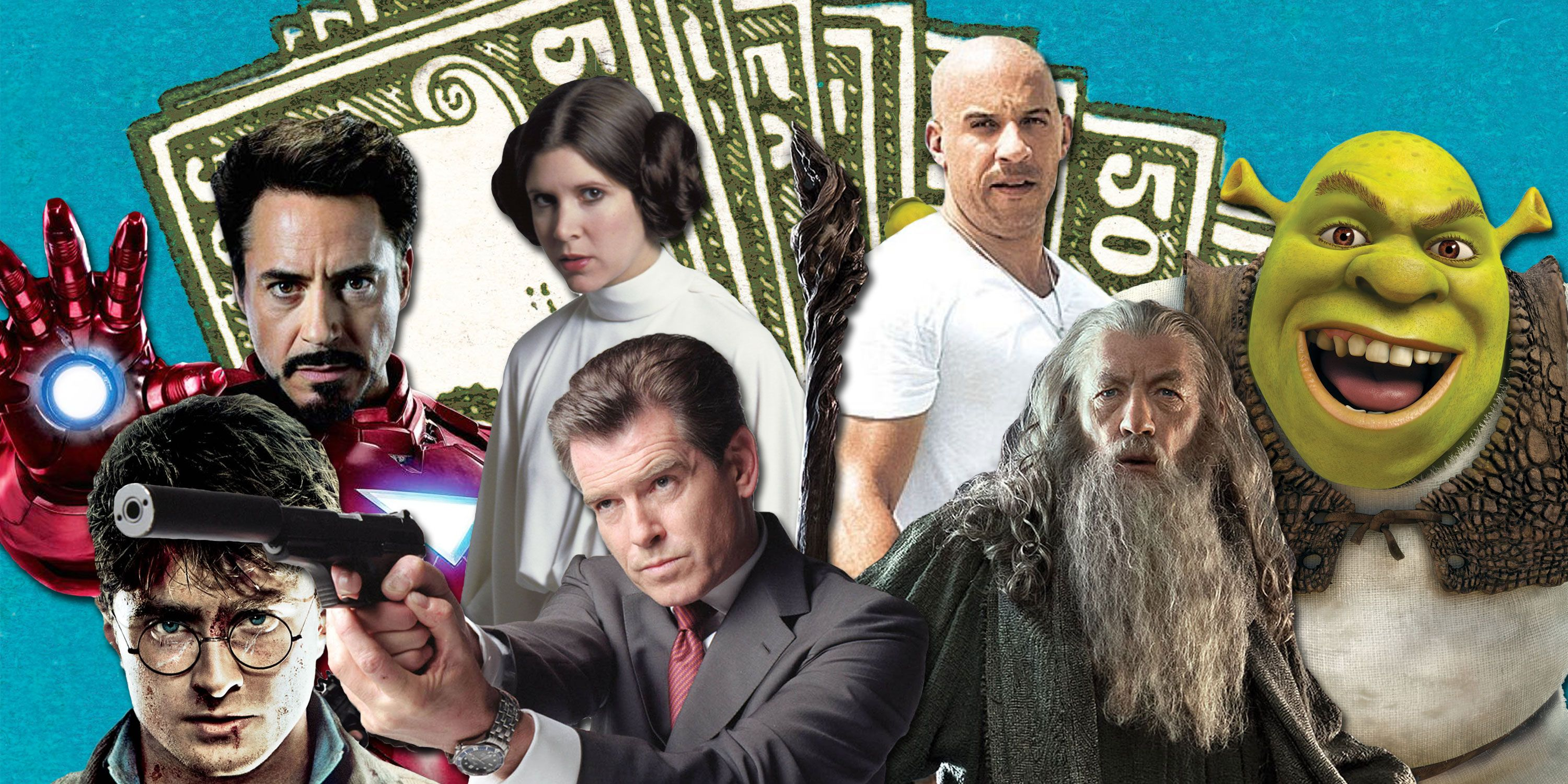 These are the 50 highest-grossing film franchises of all time