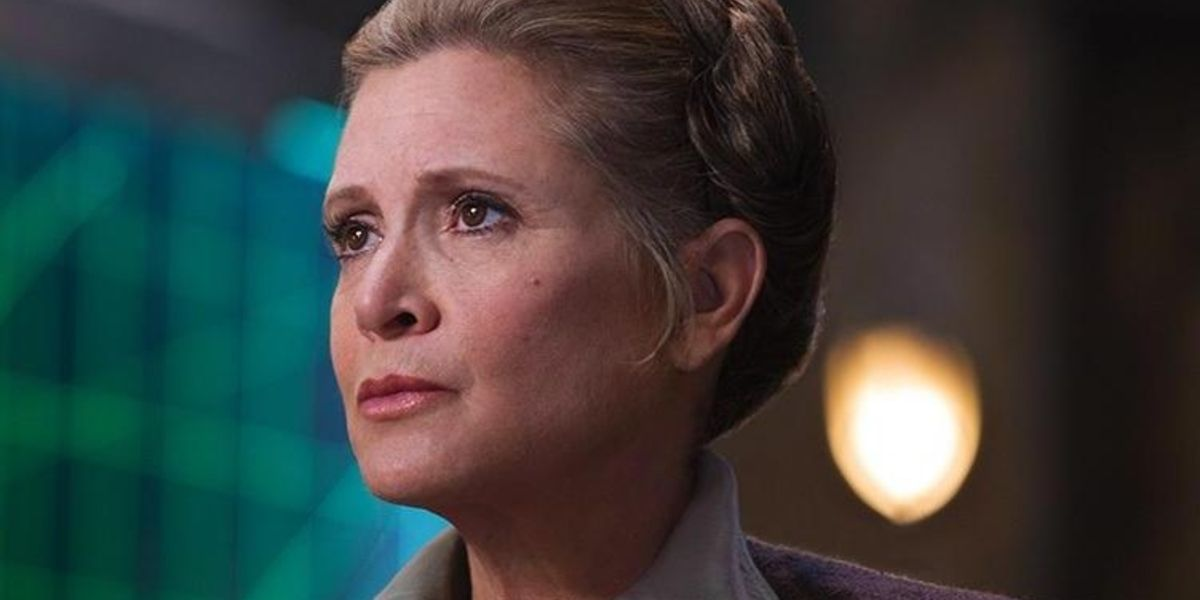 Carrie Fisher General Leia Star Wars: The Force Awakens