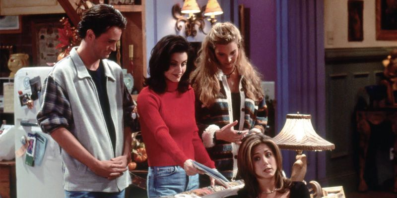 The first Thanksgiving episode is one of the best.The gang accidentally lock themselves out of the apartment, and Joey reveals he's part of a VD ad campaign.