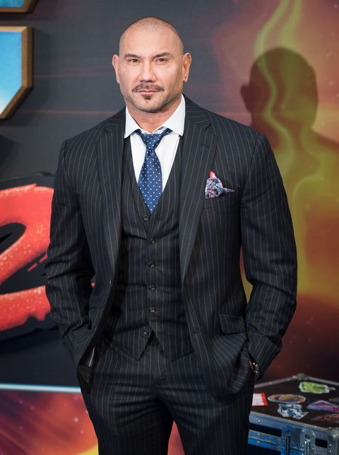 Dave Bautista at the Guardians of the Galaxy Vol 2 premiere