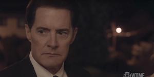 Cooper in Twin Peaks trailer