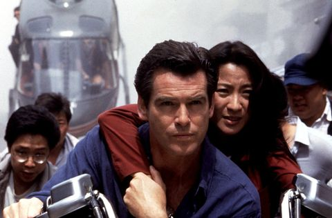 pierce brosnan and michelle yeoh in tomorrow never dies 1995