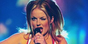 Geri Halliwell as Ginger Spice