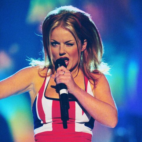 Image result for geri halliwell ginger spice