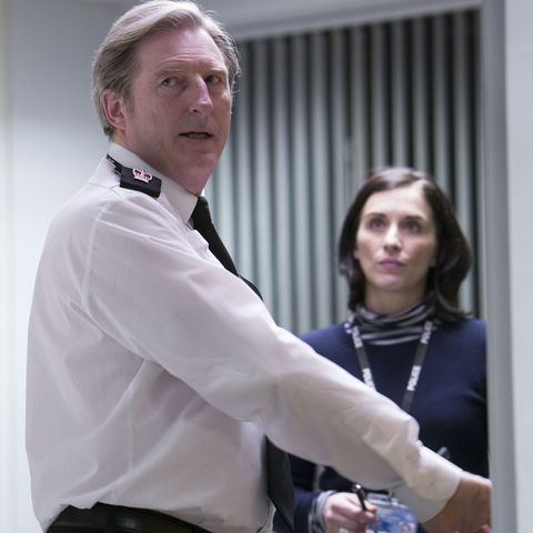 ted hastings and kate fleming in 'line of duty'
