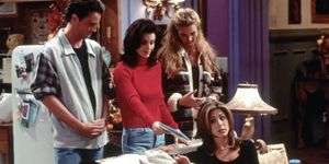 <p>The first Thanksgiving episode is one of the best. The gang accidentally lock themselves out of the apartment, and Joey reveals he's part of a VD ad campaign. </p>